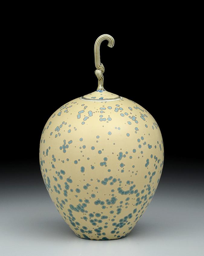 3175 Round Gourd Jar
