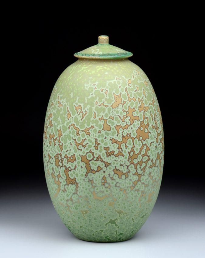 3192 Tall Covered Jar – 12 3/4 x 7″