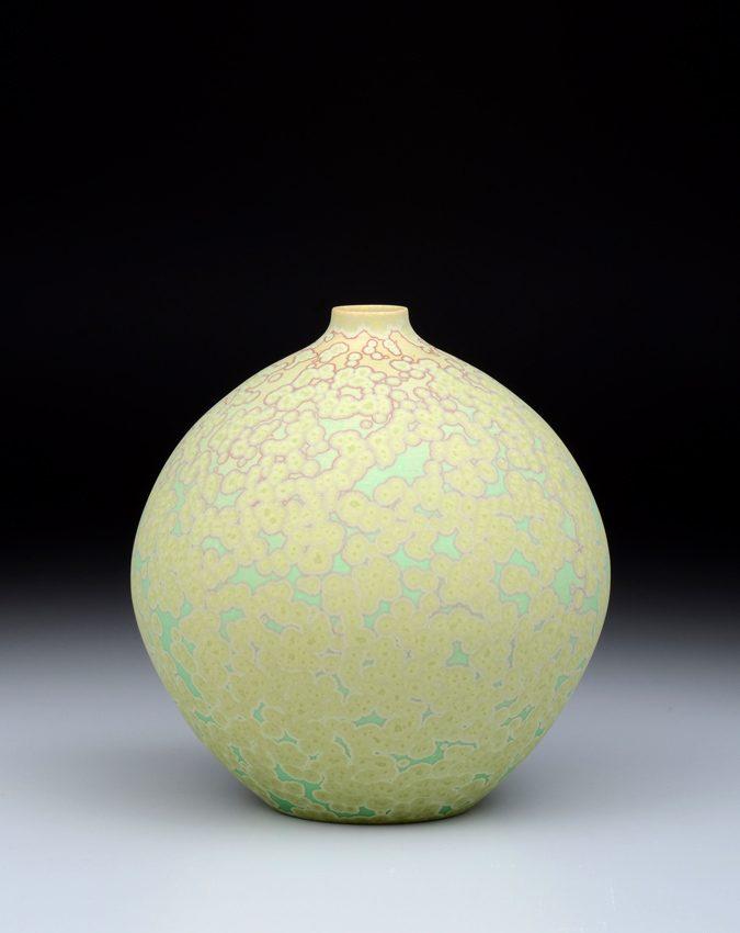 3207 Round Vase 6 1/4 x 6″